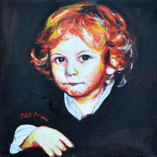 Kleiner Beethoven, Gemälde