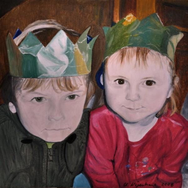 Königskinder, Gemälde